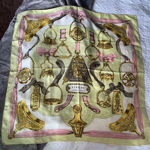 Vintage Hermès silk scarf